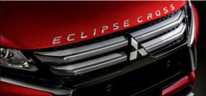 "Napis ""Eclipse Cross"" na pokrywę silnika